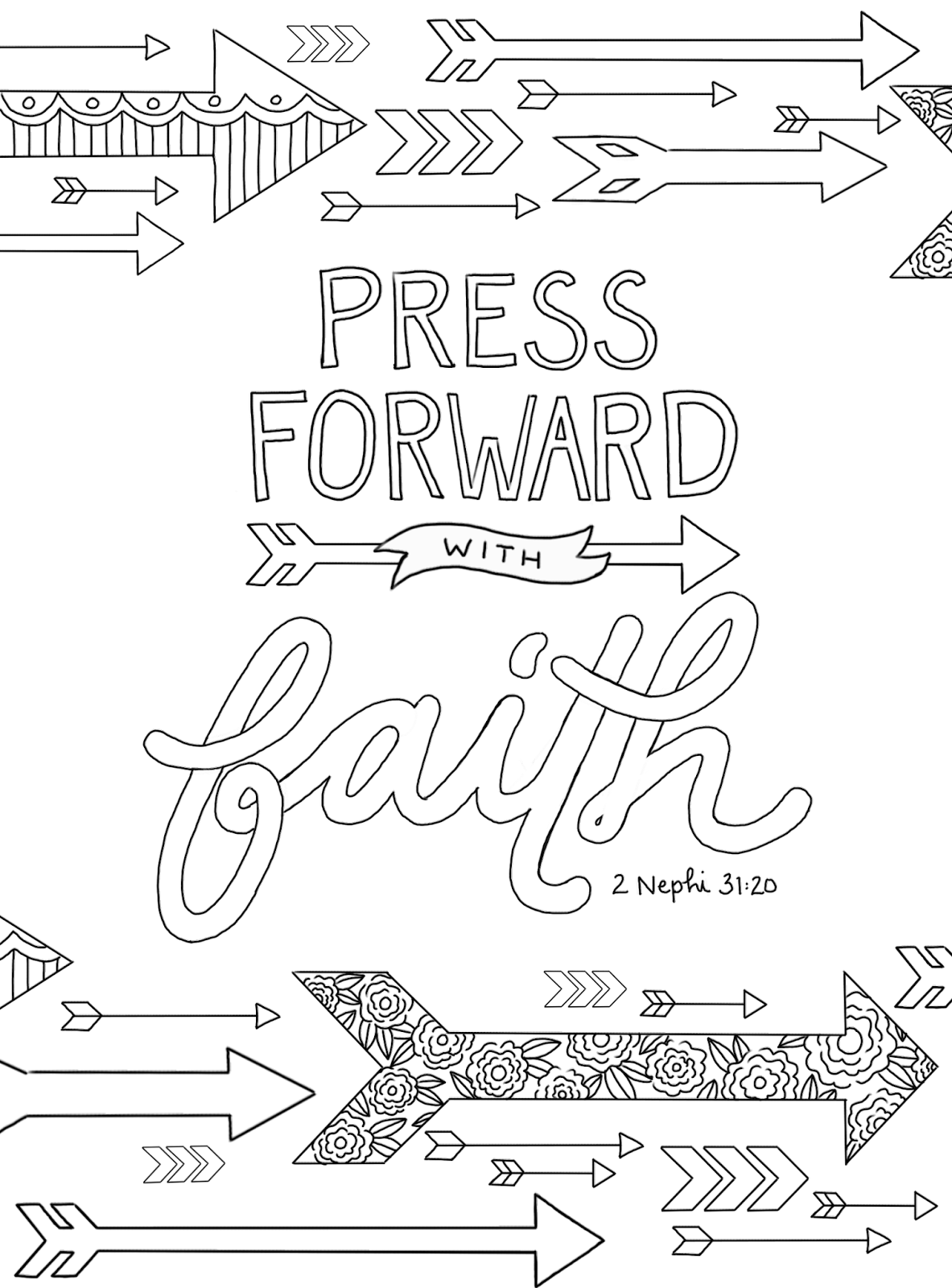 Just What I Squeeze In Quot Press Forward With Faith