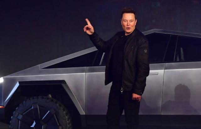 Elon Mask Di Tantang Cybertruck Tesla