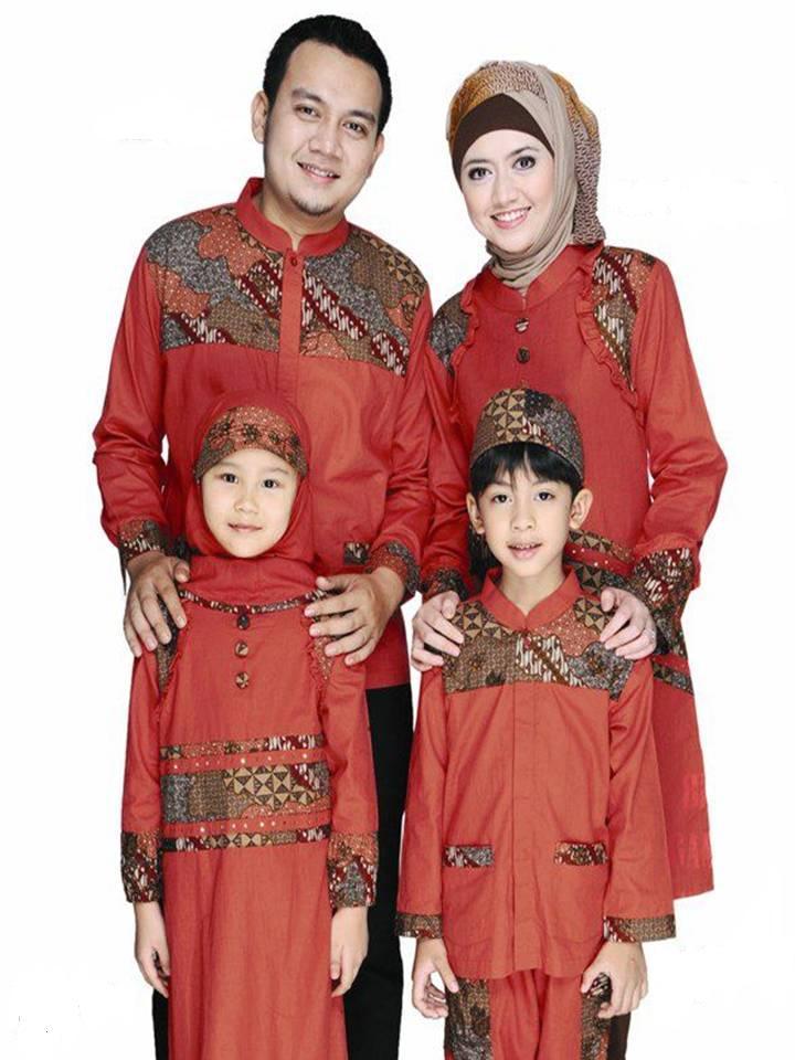 Pilihan Untuk Busana Muslim Sarimbit Keluarga Artikel