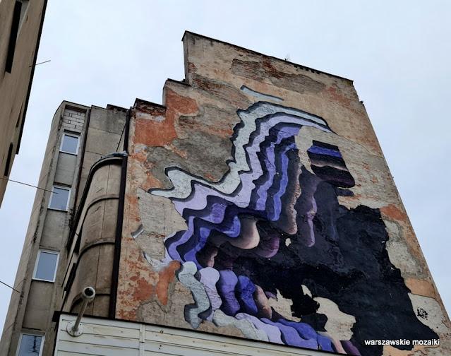 mural kamienica Warszawa Warsaw praskie kamienice Praga Północ modernizm funkcjonalizm architektura Jerzy Gelbard Grzegorz Sigalin Riman Sigalin architecture