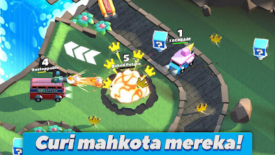 Tampilan Game Crash of Cars Android