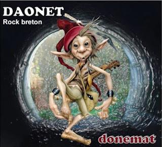 Album de rock breton rock celtique Donemat (Coop Breizh) par Daonet