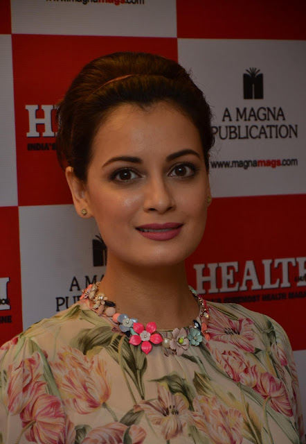 """Dia Mirza Looks Gorgeous At The """"Health & Nutrition"""" Magazine July 2016 Issue Cover Launch"""