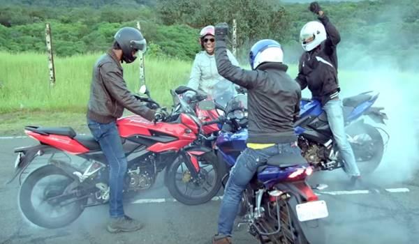 """GangSlang"" motor Pulsar Adventure Sport"
