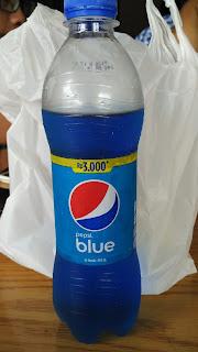 Pepsi Blue Minuman Soda Yang Unik