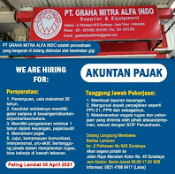 Walk In Interview di PT. Graha Mitra Alfa Indo Surabaya April 2021