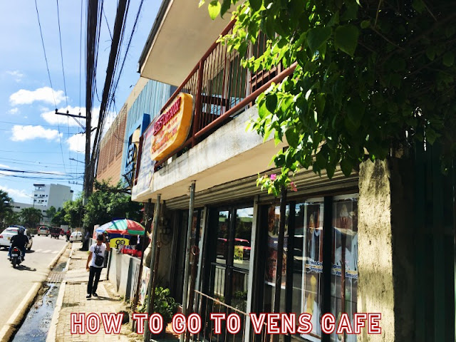 How to go to Vens Cafe Talamban