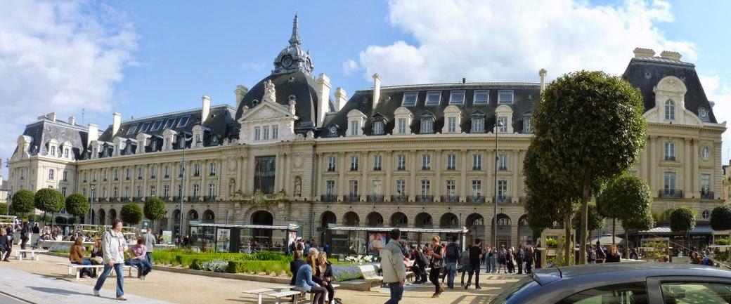 Palacio de Comercio de Rennes.