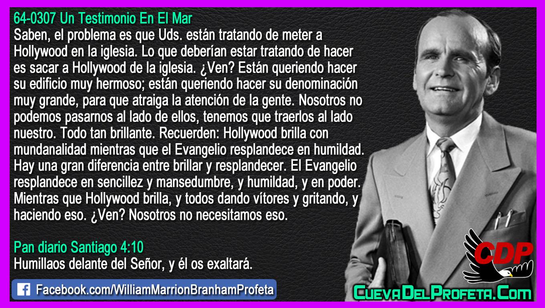 El Evangelio resplandece en humildad - William Branham en Español