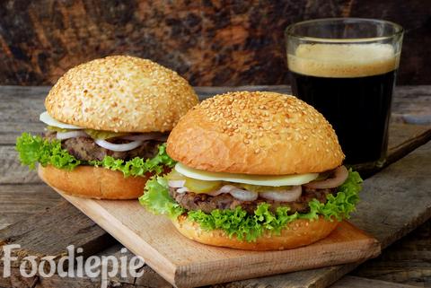 Creamy Delicious Veg Burger Recipe Homemade { simple and easy}