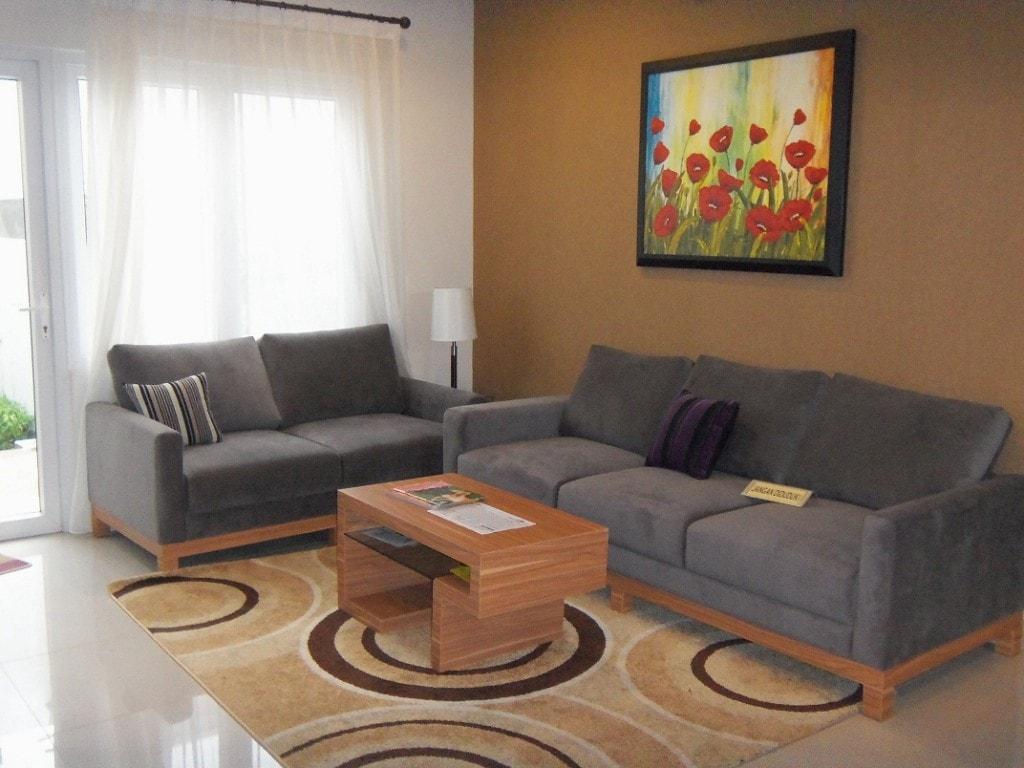 Desain Ruang Tamu Simple Dan Elegan
