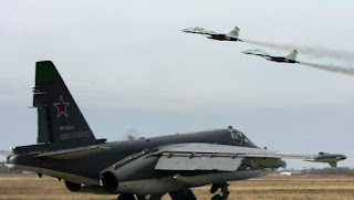 Russian and Syrian jets are on standby to shoot down any Turkish or Saudi plane that crosses into Syria.