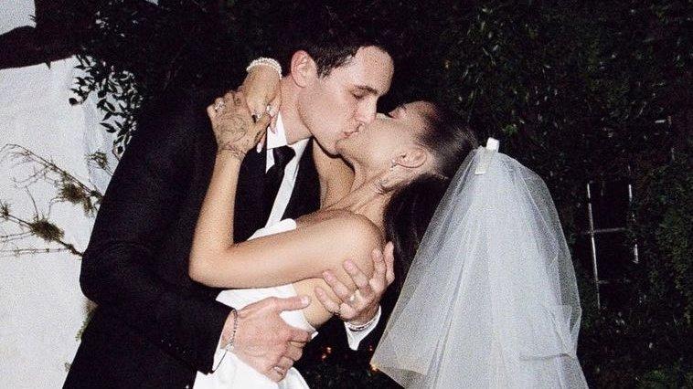Ariana Grande  and Dalton Gomez's intimate at-home wedding ceremony