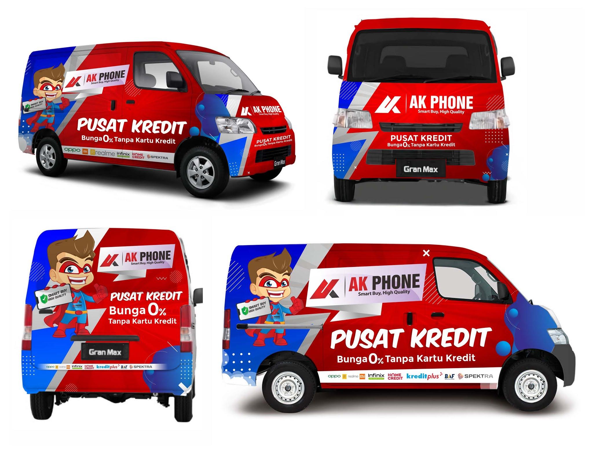 Branding Mobil Grand Max