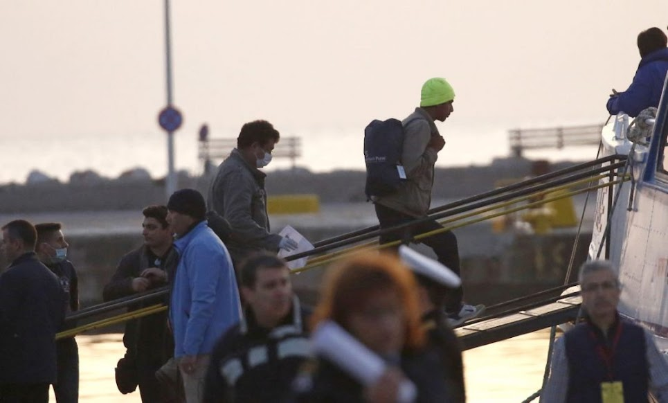 «Όχι» της Τουρκίας στο ελληνικό αίτημα επιστροφής 1.450 αλλοδαπών