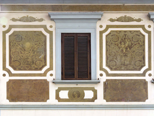 Beautiful facade, Viale Marconi, Livorno