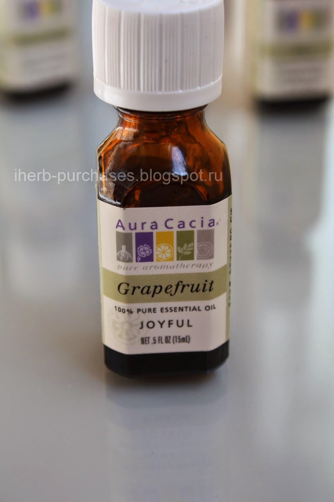 эфирное масло грейпфрута, от целлюлита, ароматерапия, релакс, отзыв, iherb