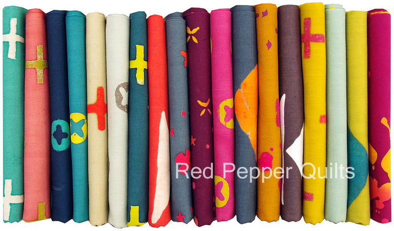 Handcrafted by Alison Glass for Andover Fabrics | Red Pepper Quilts 2015