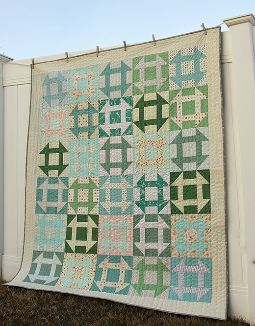 Fast Churn Dash Quilt Free Tutorial