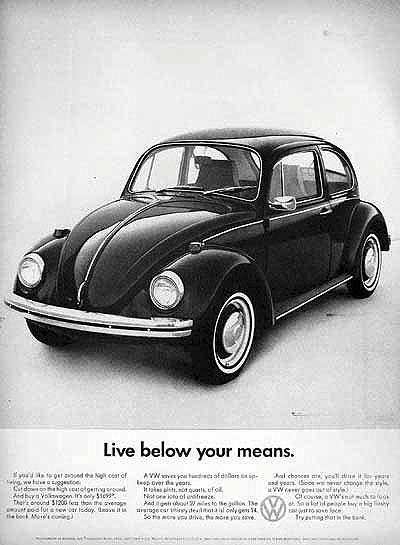 Cool & Sweet Vintage Volkswagen Ads ~ vintage everyday