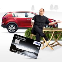 Santander Consumer Bank Visa TurboKarta