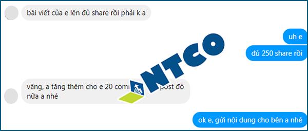 dich vu tang share facebook