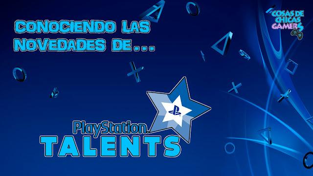 Novedades PS Talents 2018