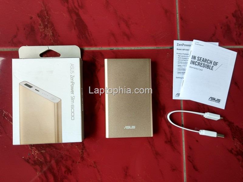 Paket Pembelian Asus Zenpower Pocket 6000mAh