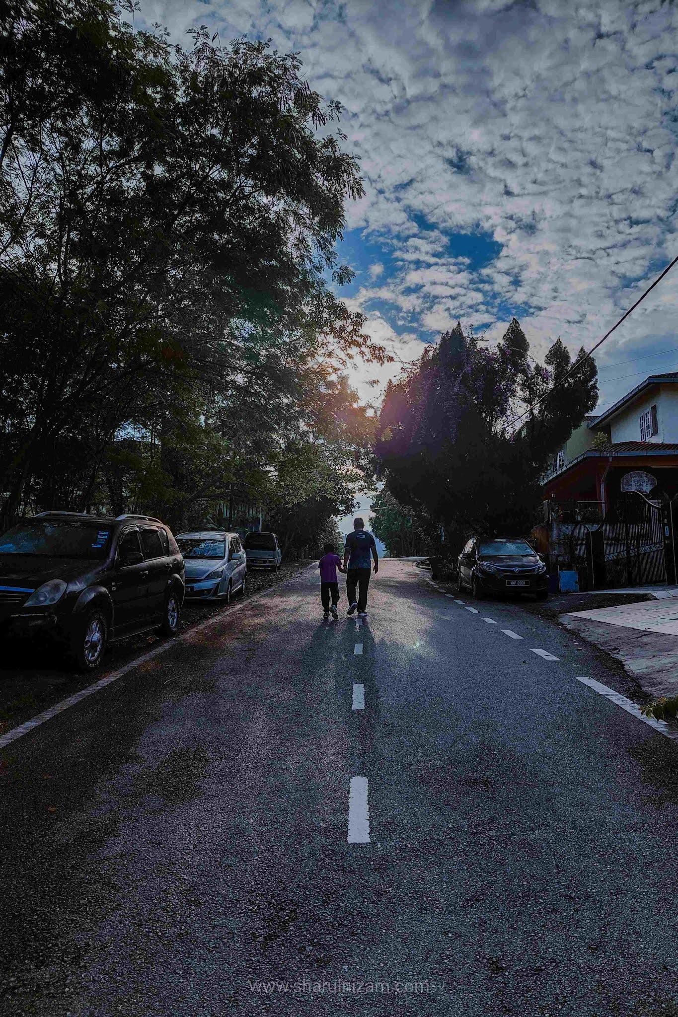 Kelebihan Brisk Walk Bersama Anak Dan Isteri. Single Pun Boleh.