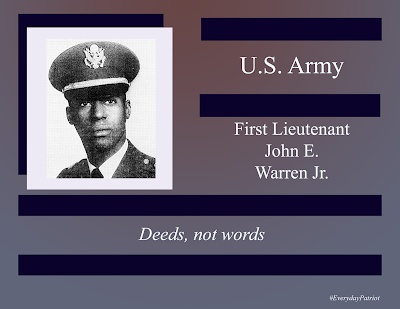 A short biopic of U.S. Army First Lieutenant John E. Warren Jr. Killed in Action during Vietnam