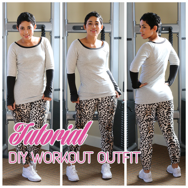 Low Price Fabric: DIY Workout Outfit Tutorial w/ Mimi G.