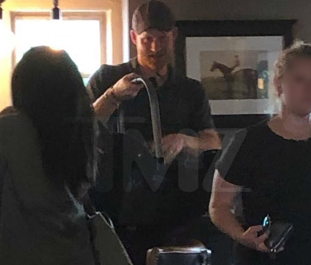 Meghan Markle and Prince Harry take their son out to a British pub