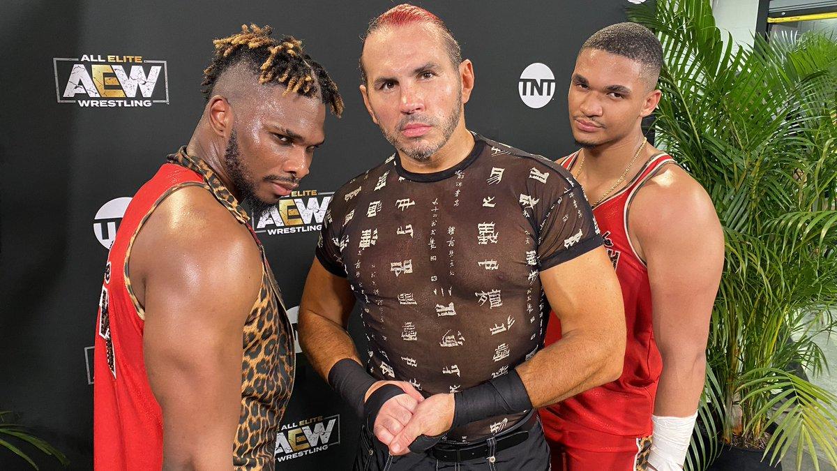 Matt Hardy e Private Party fazem aparição na IMPACT Wrestling