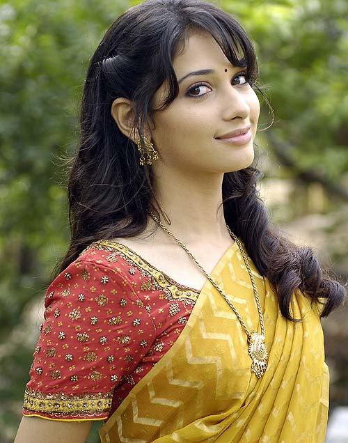 Tamanna In Tadakha Halfsaree: Hot Tollywood Actress