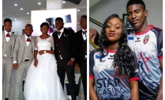20-year-old ex-Flying Eagles attacker, Awoniyi gets married [PHOTOS]