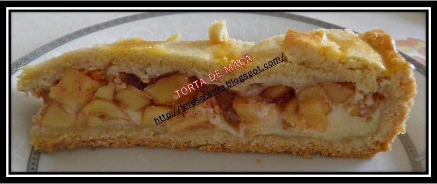 torta doce; maçã; sobremesa com maçã