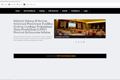 Aplikasi Reservasi Hotel Berbasis Web Gratis