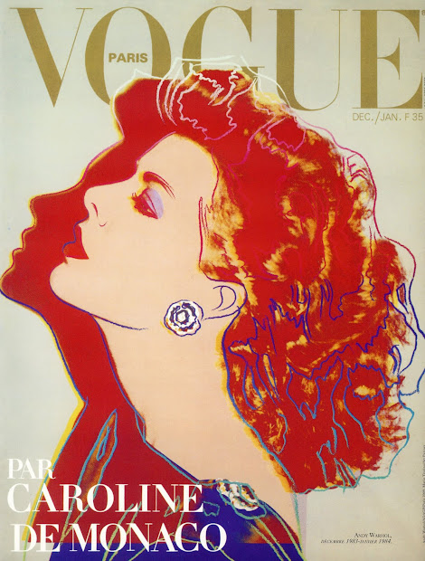 By Andy Warhol Vogue Cover