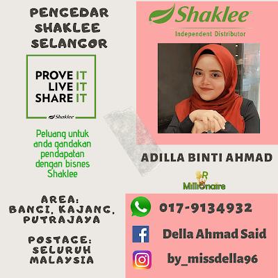Pengedar Shaklee Putrajaya 0179134932