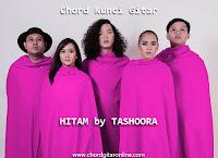 Chord Kunci Gitar Tashoora Hitam