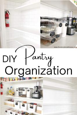 DIY Pantry Organization