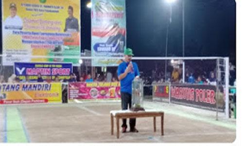 Pembukaan Open Turnamen PB PATAS II   Piala Bergilir EDWARD DF Semarak