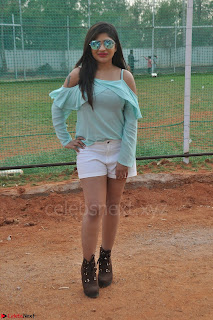 Madhulagna Das looks super cute in White Shorts and Transparent Top 34.JPG