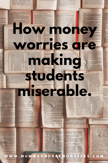 How money worries are making students miserable...Guest Post