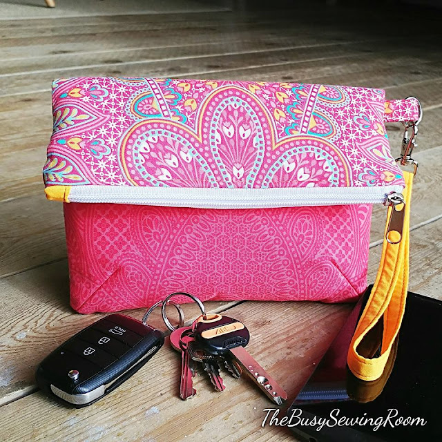 fold-over clutch and crossbody bag pattern options