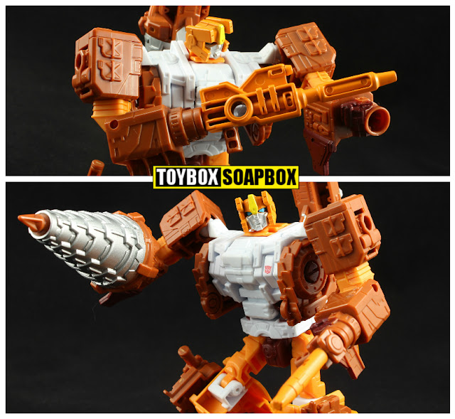 unite warriors nosecone drill hands