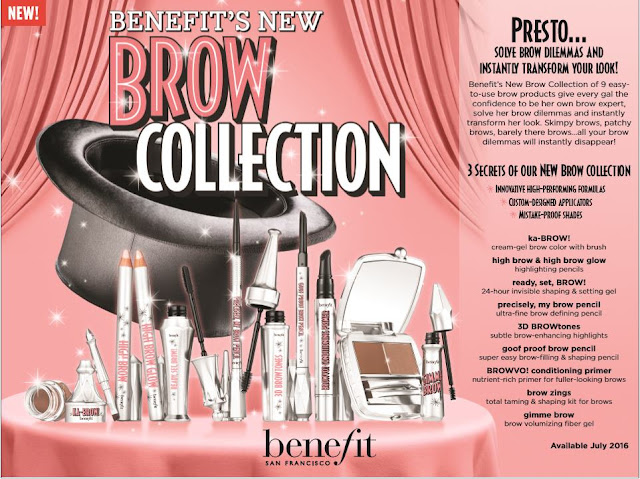 a photo of Benefit NEW Brow Collection