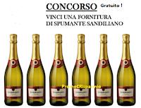 Logo Vinci gratis una fornitura da 6 bottiglie di Spumante Sandiliano Dessert Grande Cuvee 75cl