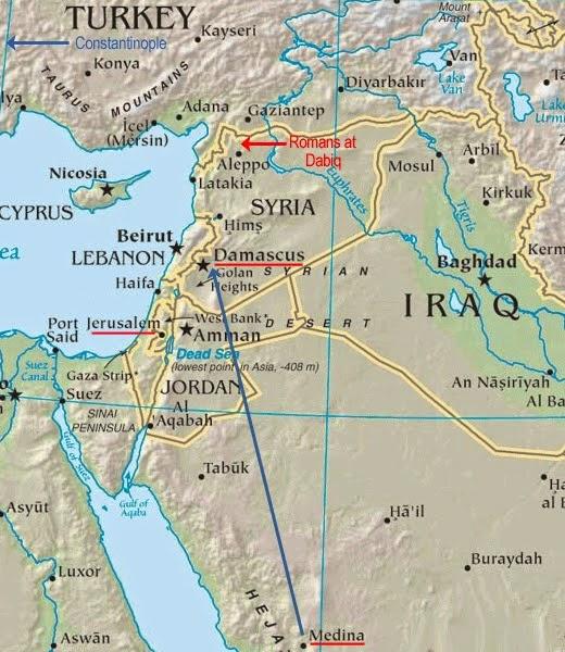 Daerah Syam dan Dabiq