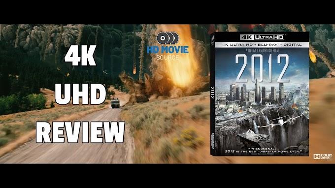2012 4K Ultra HD Blu-ray Review: The Basics